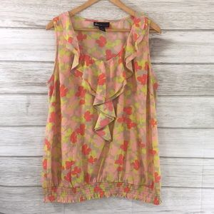 Lane Bryant Floral Tank Top